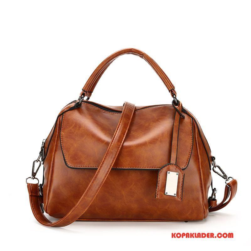 Dam Handväskor På Nätet Ny Kudde Vår Kvinna Mode Vinröd