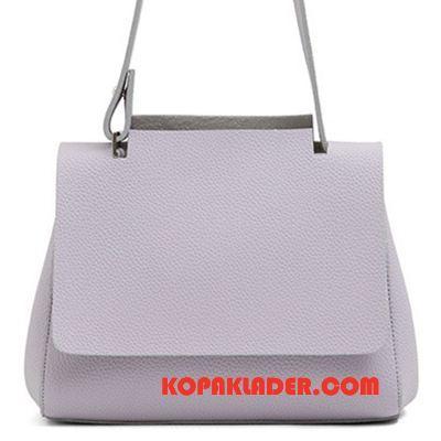 Dam Handväskor På Nätet Väska Stor Mode Messenger Väska Allt Matchar Grå