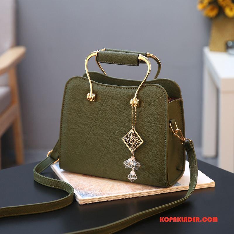 Dam Handväskor Rea Pu Mode Ny Kvinna Väska Grön