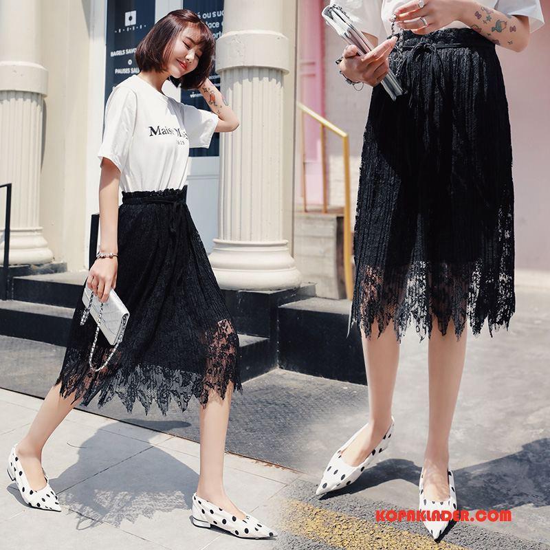 Dam Kjolar Billigt Casual Trend 2018 Mode Slim Fit Svart