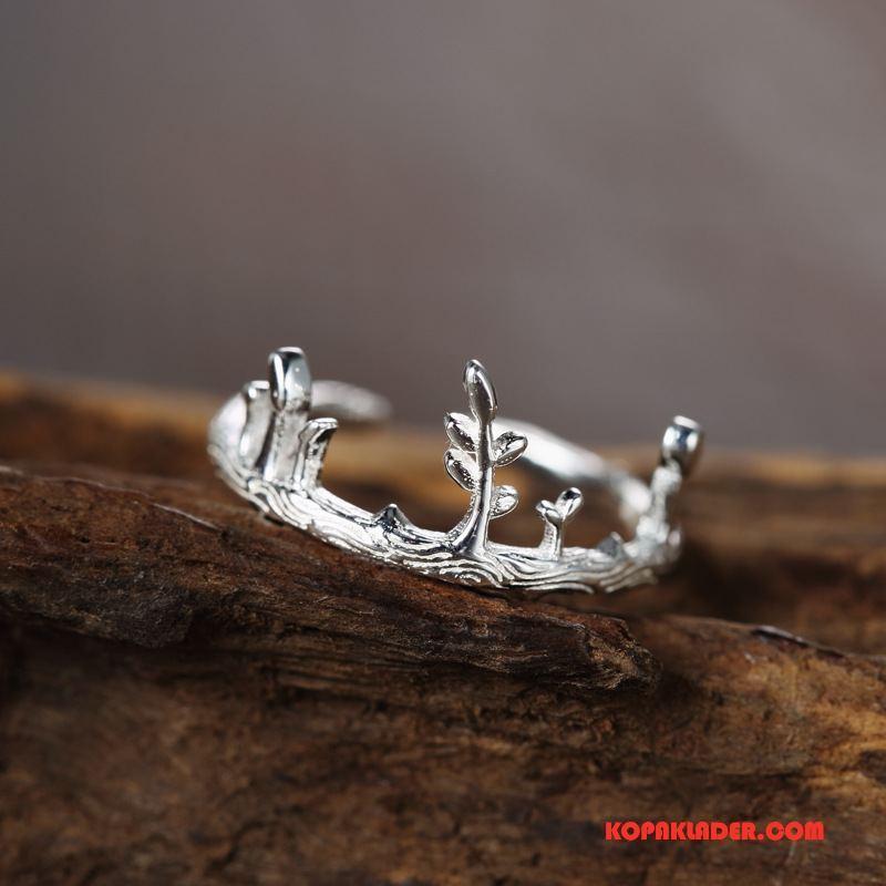 Dam Silver Smycken Billigt Originalitet Elegant Ren Handgjord Konst Silver