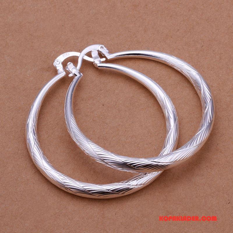 Dam Silver Smycken Köpa Liten Bröstkorg Kvinna Stor Europa Accessoar Silver