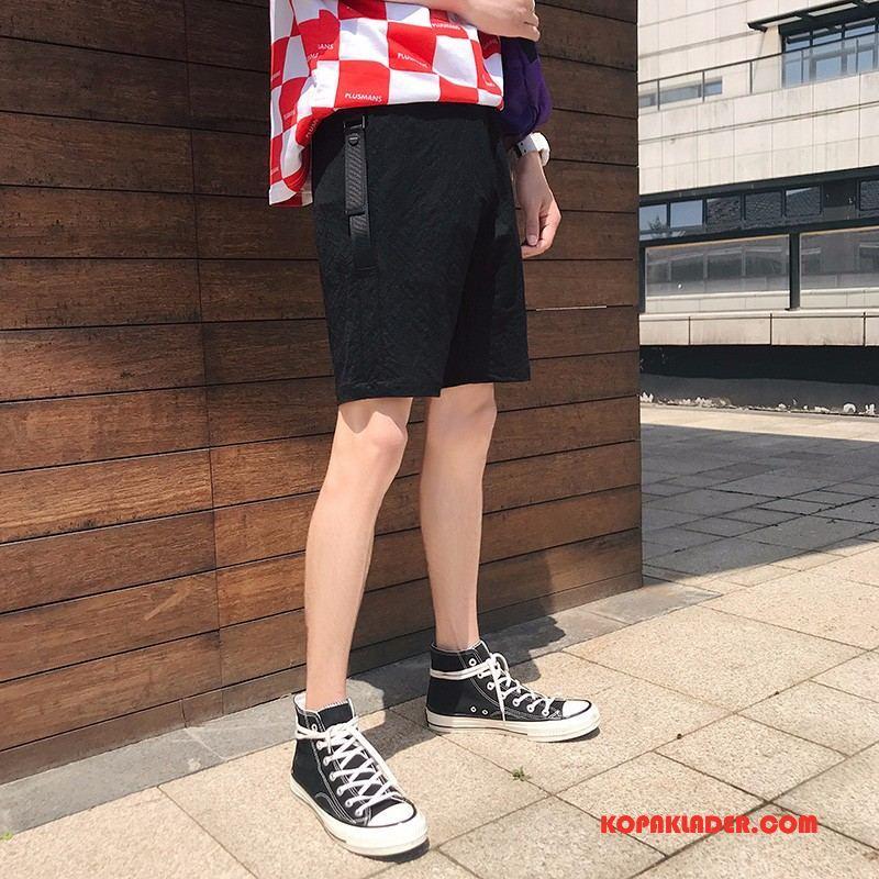 Herr Byxor Billig Män Shorts Sommar Ny Svart