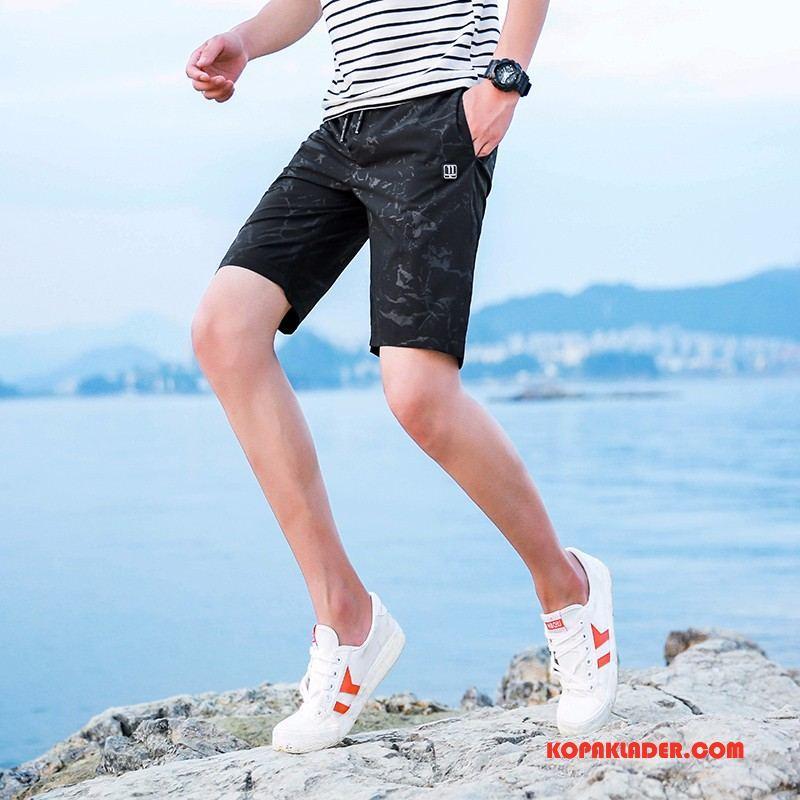 Herr Byxor Rea Trend Stor Sommar Casual Shorts Camouflage Svart