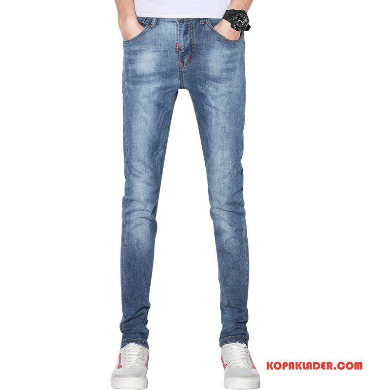 Herr Jeans Butik Byxor Mode Denim Blå