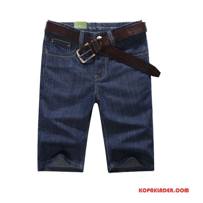 Herr Jeans Online Byxor Kortbyxor Tunn Sommar Denim Mörkblå