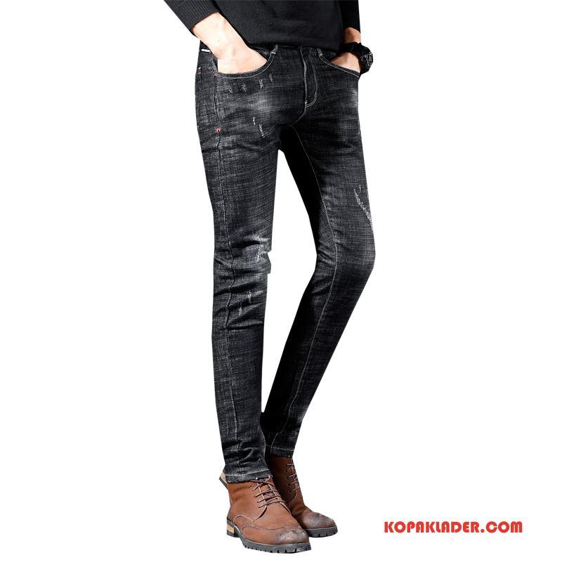 Herr Jeans Online Mode Byxor Denim Svart