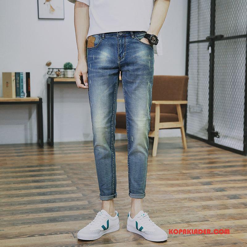 Herr Jeans Rea Mode Trend Varumärke Denim Blå