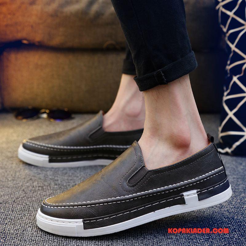 Herr Mockasiner Till Salu Skor Trend Casual Läderskor Loafers Brun