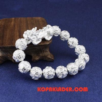 Herr Silver Smycken Billigt Kvinna Ren Accessoar Trend Personlighet Silver