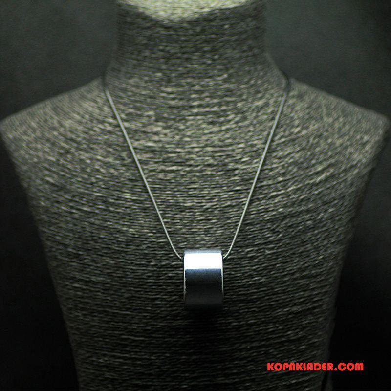 Herr Silver Smycken Billigt Män Accessoar Silver