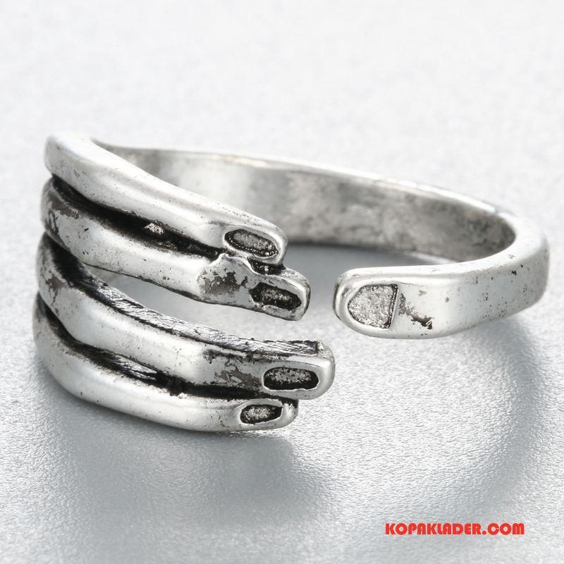 Herr Silver Smycken Billigt Retro Kvinna Män Accessoar Personlighet Silver