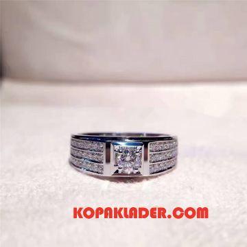 Herr Silver Smycken Köpa Par Ren Män Äktenskap Silver