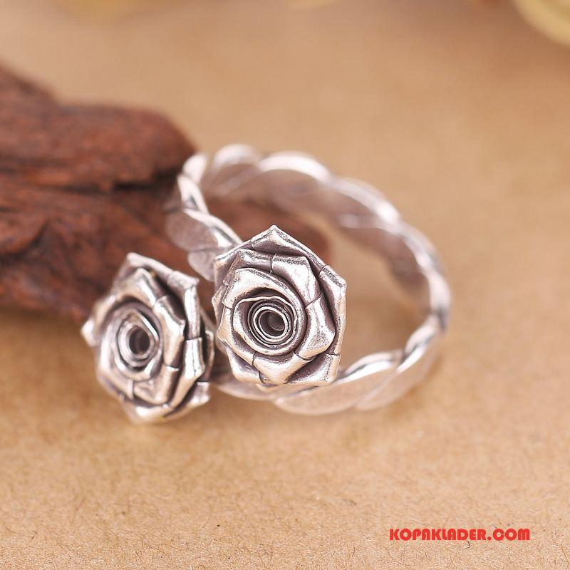 Herr Silver Smycken Köpa Retro Män Ren Handgjord Silver
