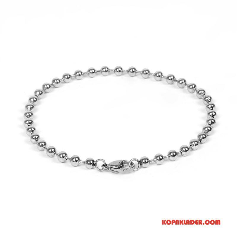 Herr Silver Smycken Till Salu Enkel Mode Män Liten Bröstkorg Bra