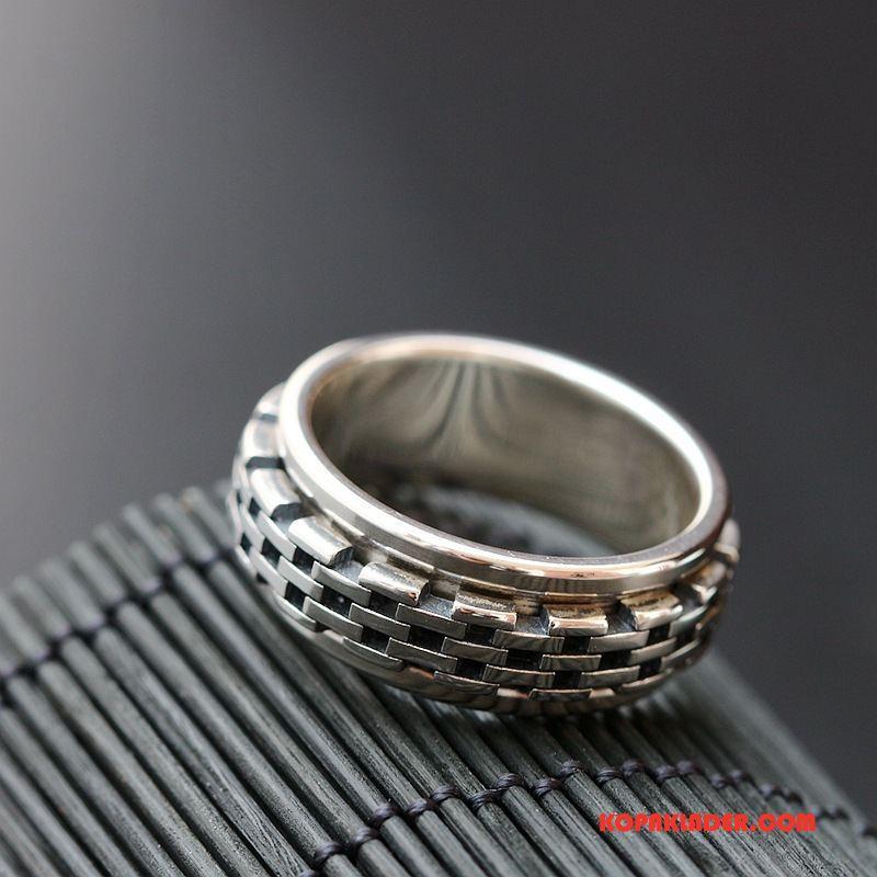 Herr Silver Smycken Till Salu Handgjord Ren Män Silver