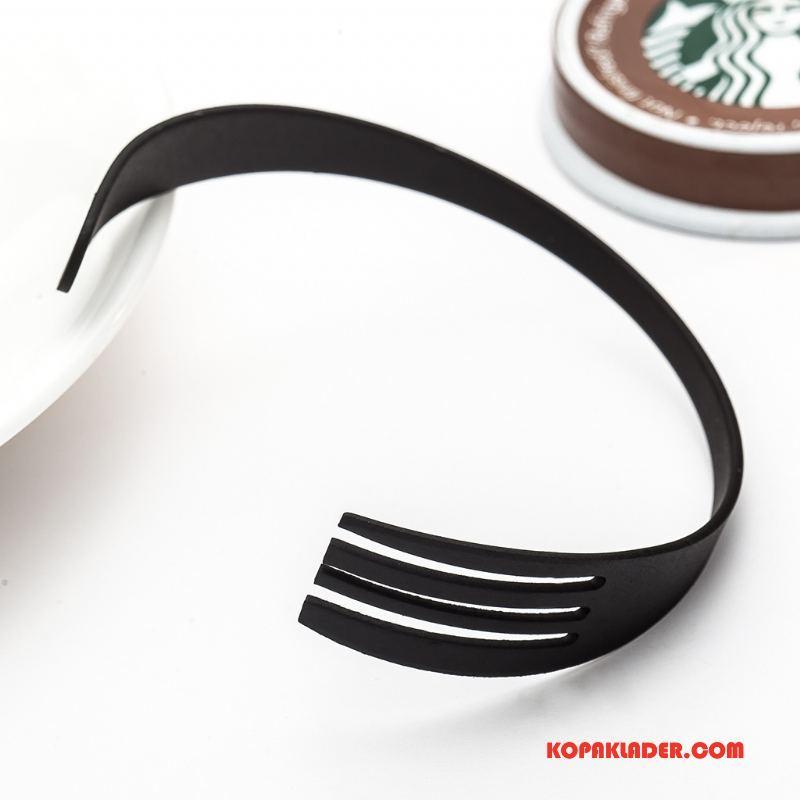 Herr Silver Smycken Till Salu Kreativa Armband Enkel Mode Accessoar Svart
