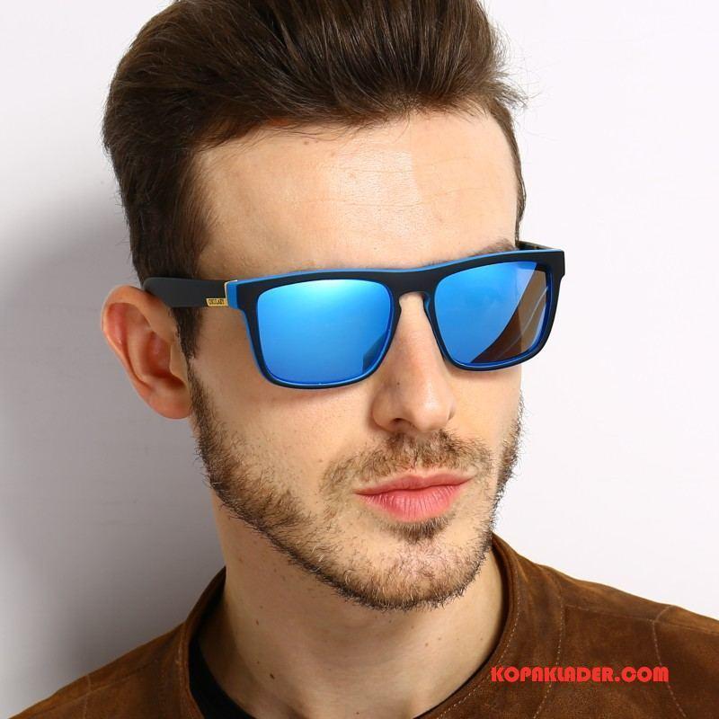 Herr Solglasögon Rea Europa Män Kvinna Mode Polariserande Blå