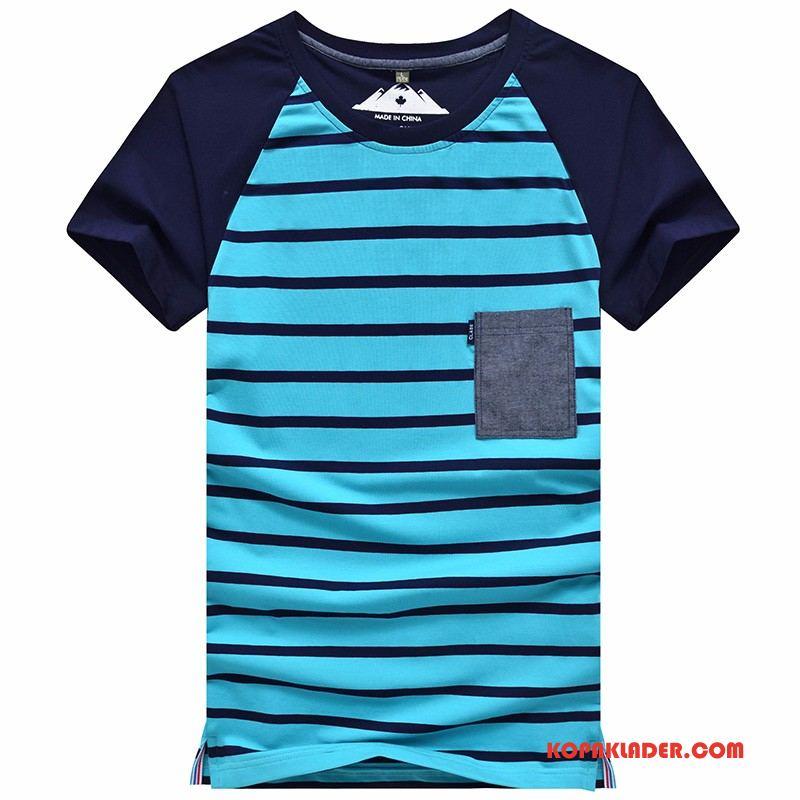 Herr T-shirts Online Kortärmad Kungsblå
