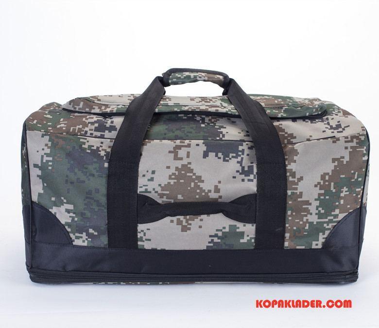 Herr Vandringsryggsäck Billig Friluftsliv Stor Resa Väska Bagage Väska Camouflage